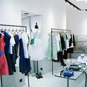 Carven; The Paris-based label inaugurated its first store in Cannes in April, selling its hip women's wear in the 555-square-meter space.