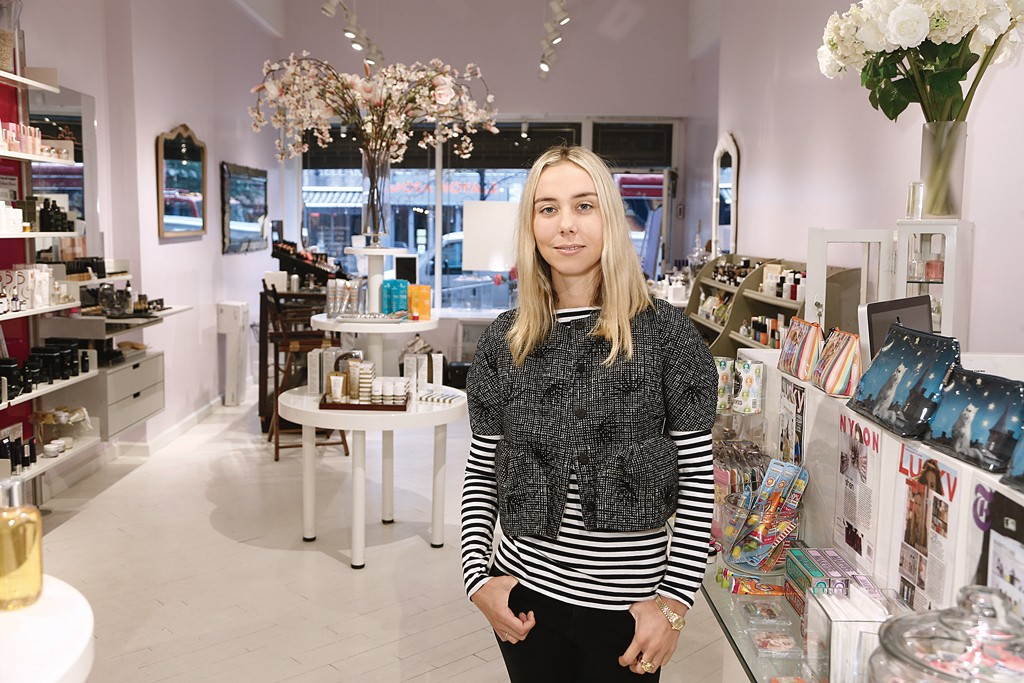 Jessica Richards; The owner and creative force behind Brooklyn's Shen Beauty.