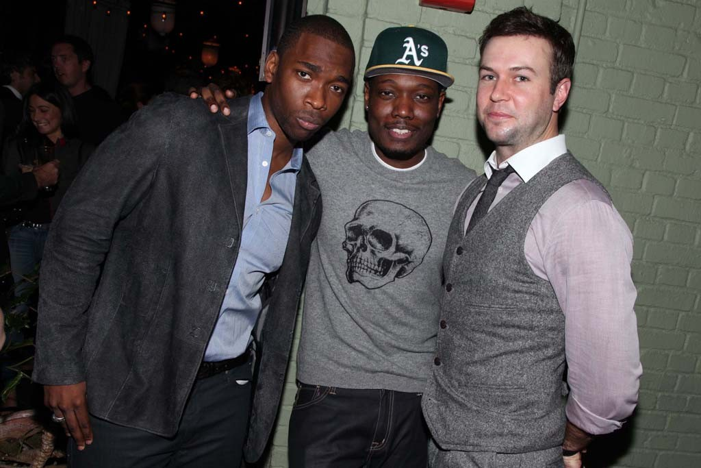 Jay Pharoah, Michael Che and Taran Killam