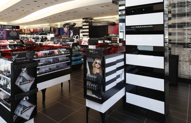 Inside the Sephora store on Lexington Avenue.