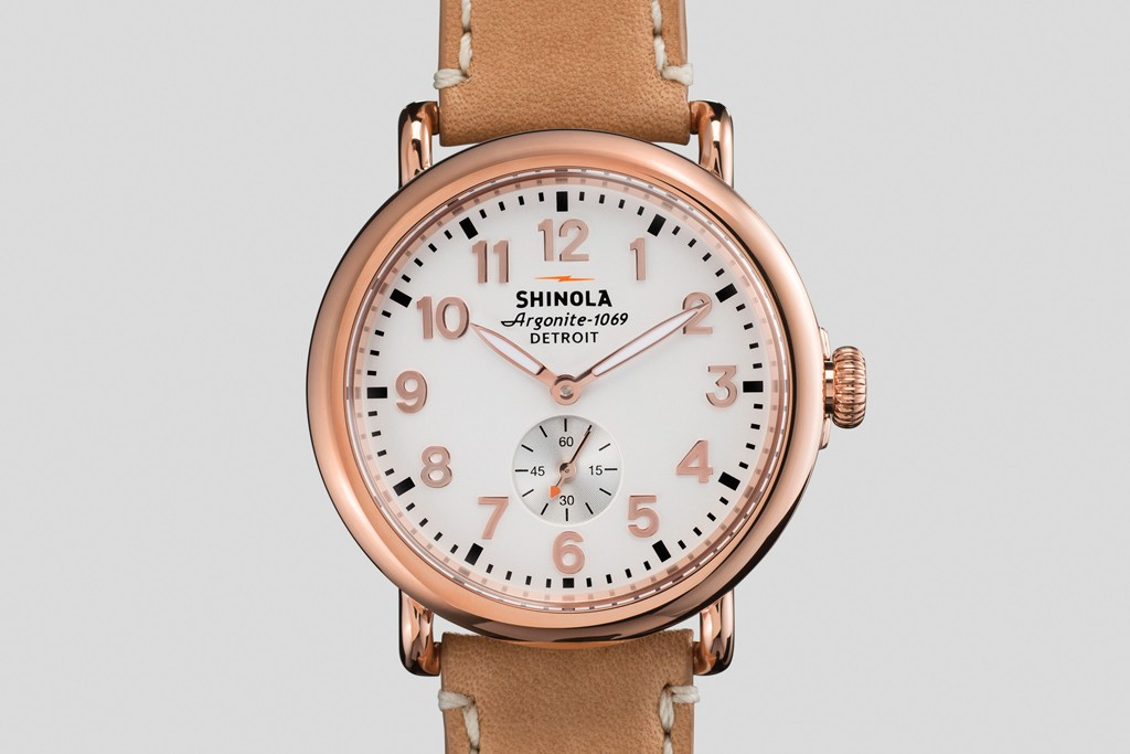 Shinola watches will be sold at the store.