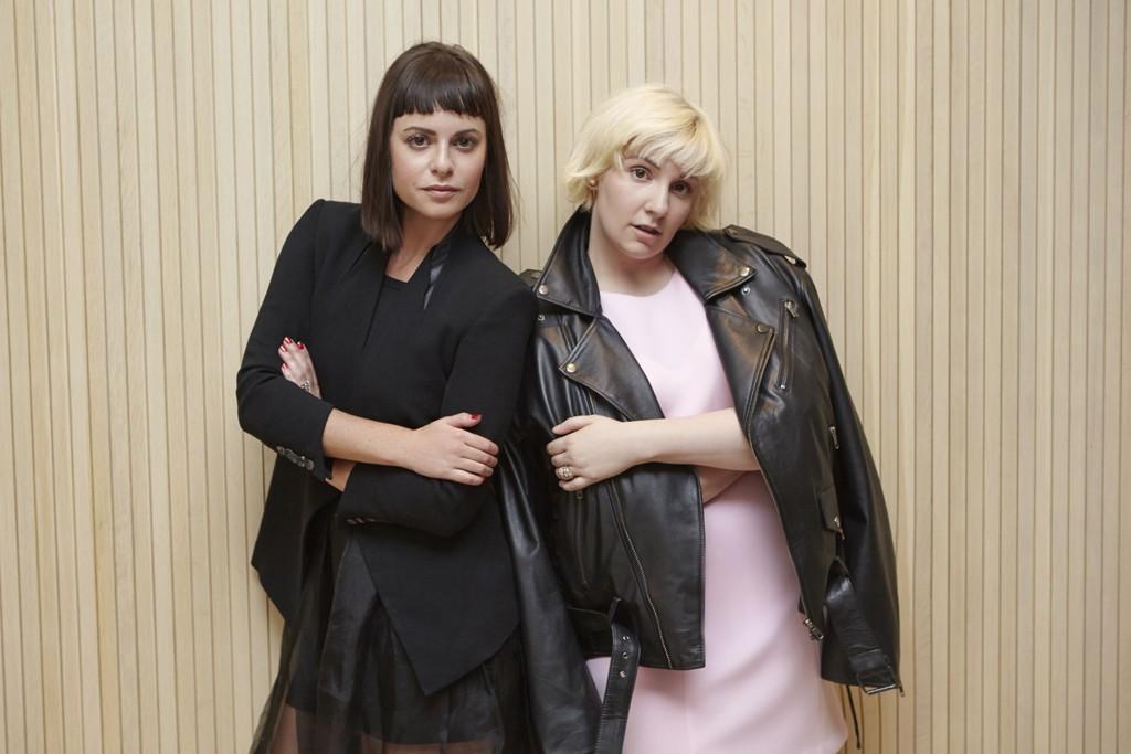 Lena Dunham and Sophia Amoruso
