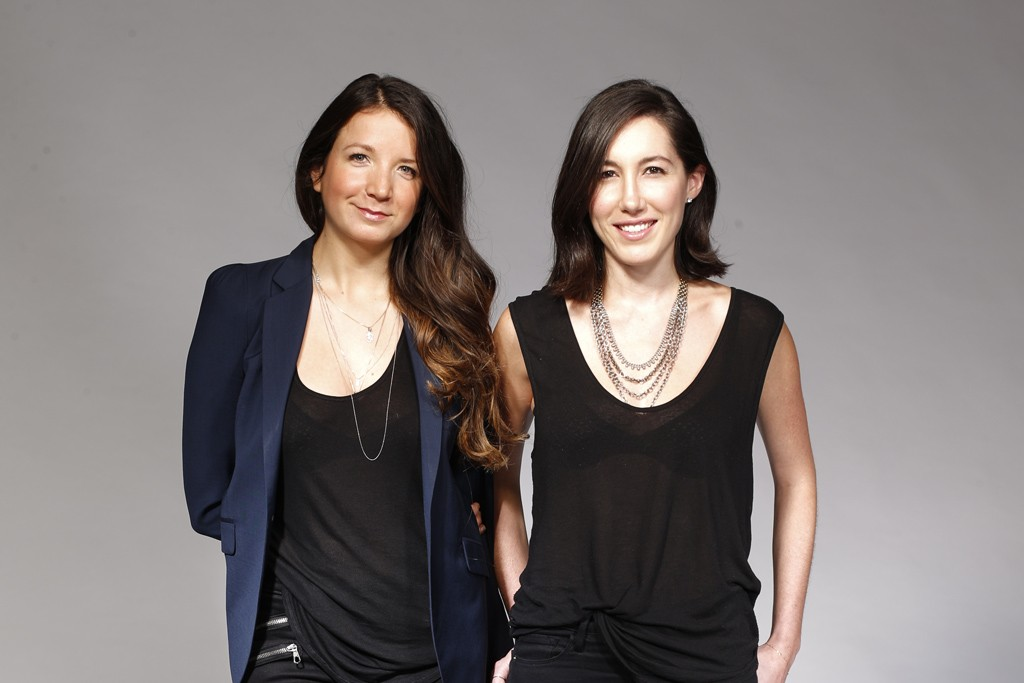 Negative Underwear founders: Marissa Vosper and  Lauren Schwab.