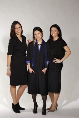 MM.Lafleur founders Narie Foster, Miyako Nakamura and Sarah LaFleur.
