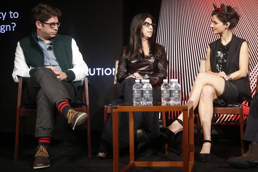 Yancey Strickler, Maria Pinto and Satya Twena.