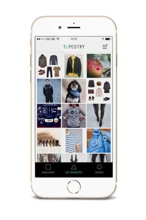 A screenshot of Liberty's new app