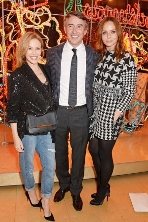 Kylie Minogue, Steve Coogan and Stella McCartney