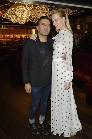 Osman Yousefzada and Poppy Delevingne
