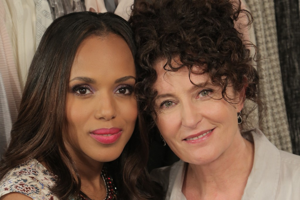 Kerry Washington and Lyn Paolo