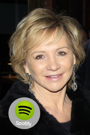"""""""I am thankful for Spotify because I have all my music with me whatever happens and anywhere."""" — Alberta Ferretti"""