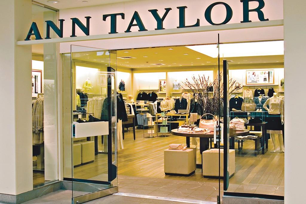 An Ann Taylor store.