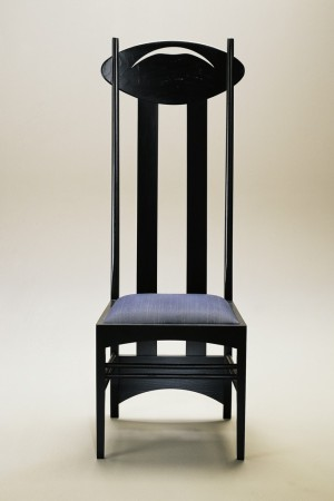 Argyle chair, 1903-1905, by Charles Rennie Mackintosh, from the Arts and Crafts movement, which influenced many collections this spring.