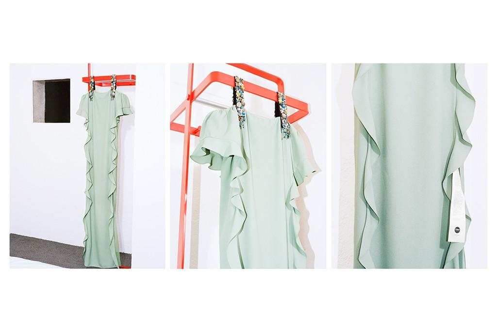 Cao Fei's dress for Chloé