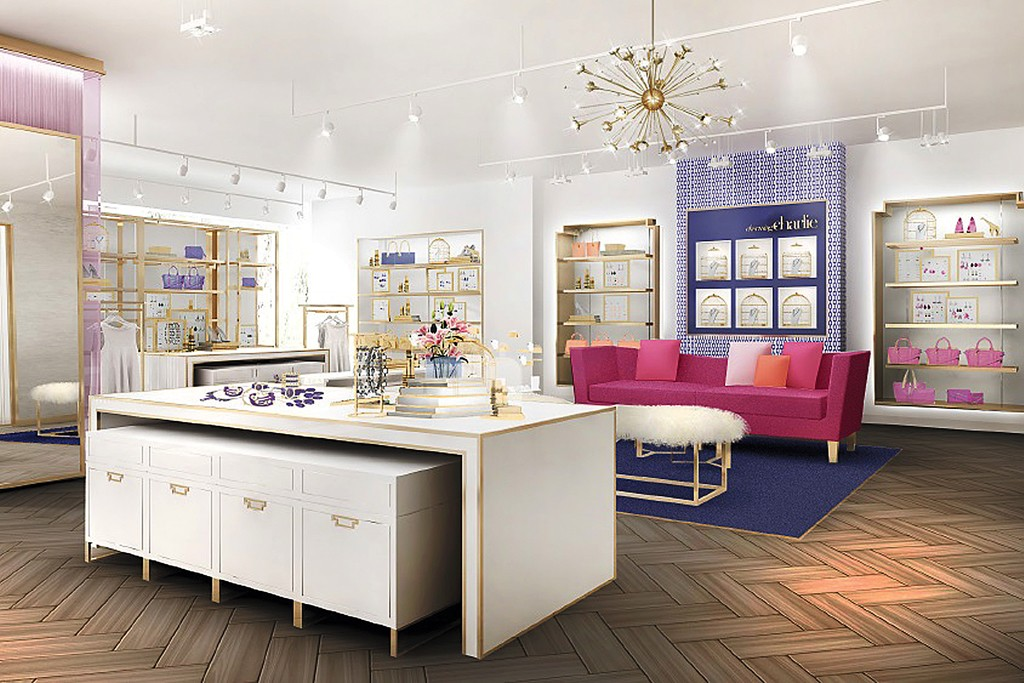A rendering of Charming Charlie's New York flagship, due to open in April 2015.