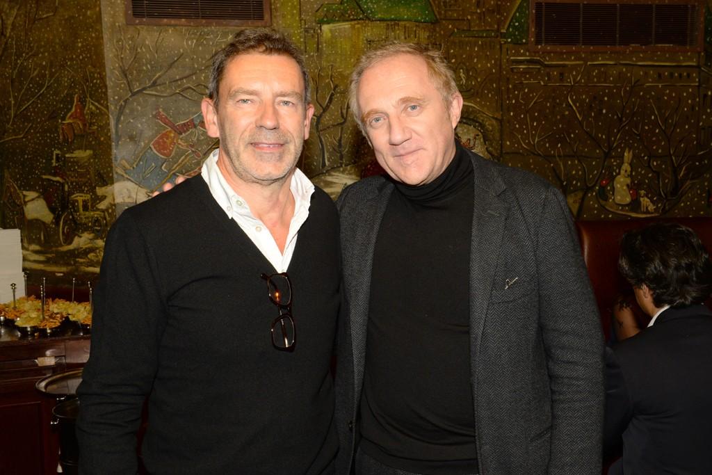 Tomas Maier and François-Henri Pinault