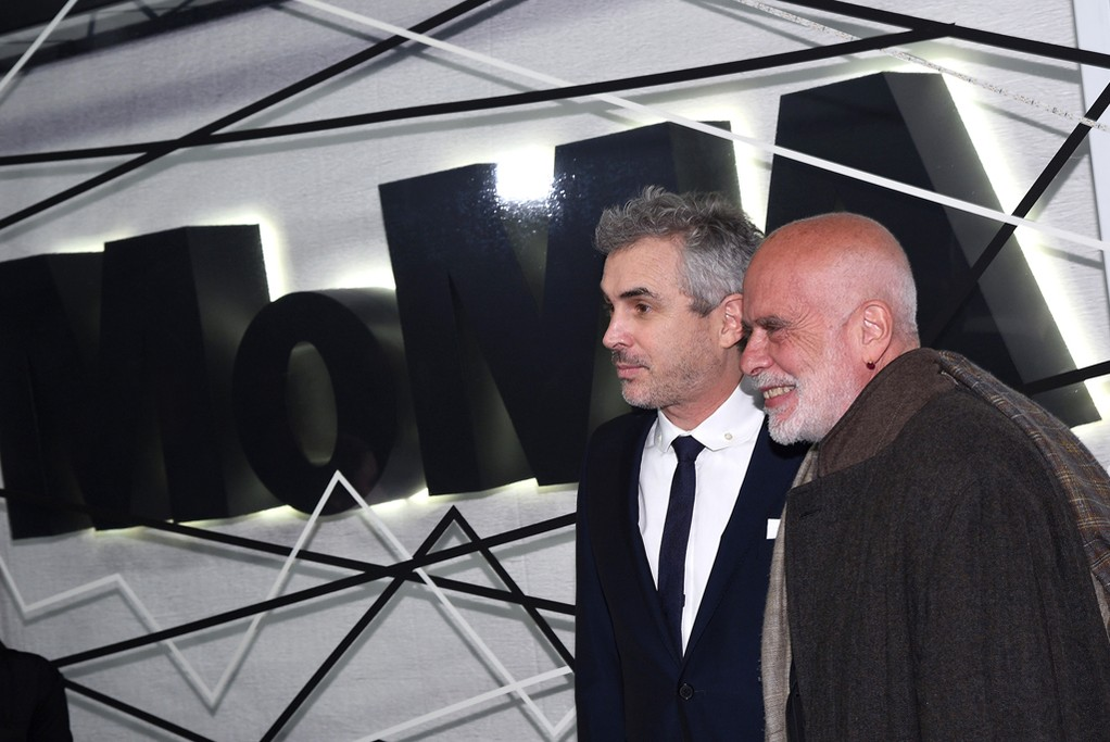 Alfonso Cuaron and Francesco Clement