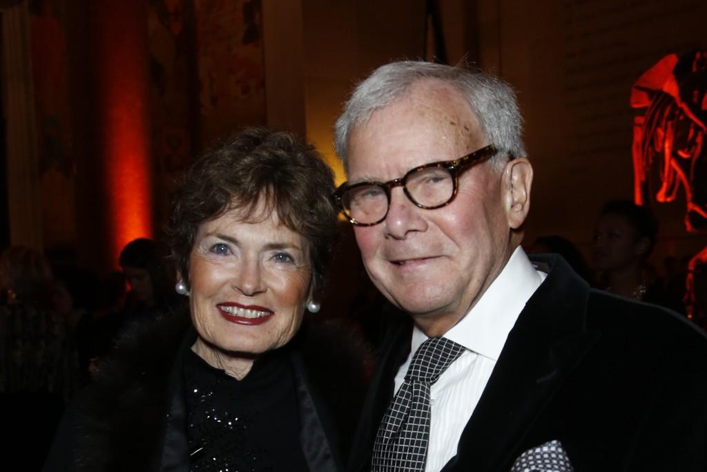 Meredith Lynn Auld and Tom Brokaw