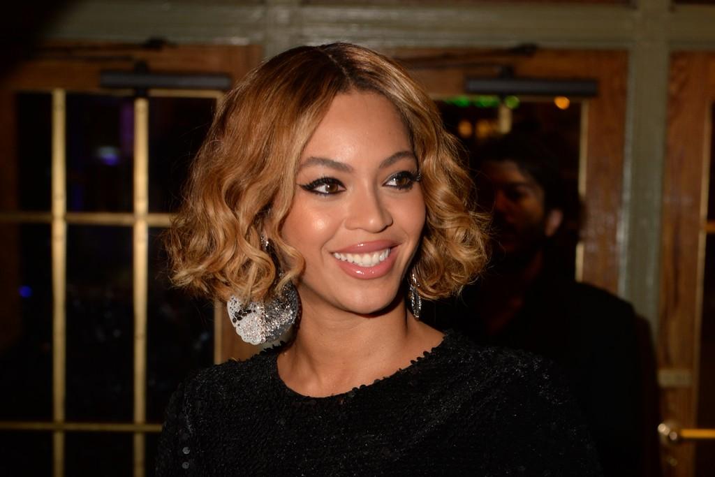 Beyoncé in Topshop.