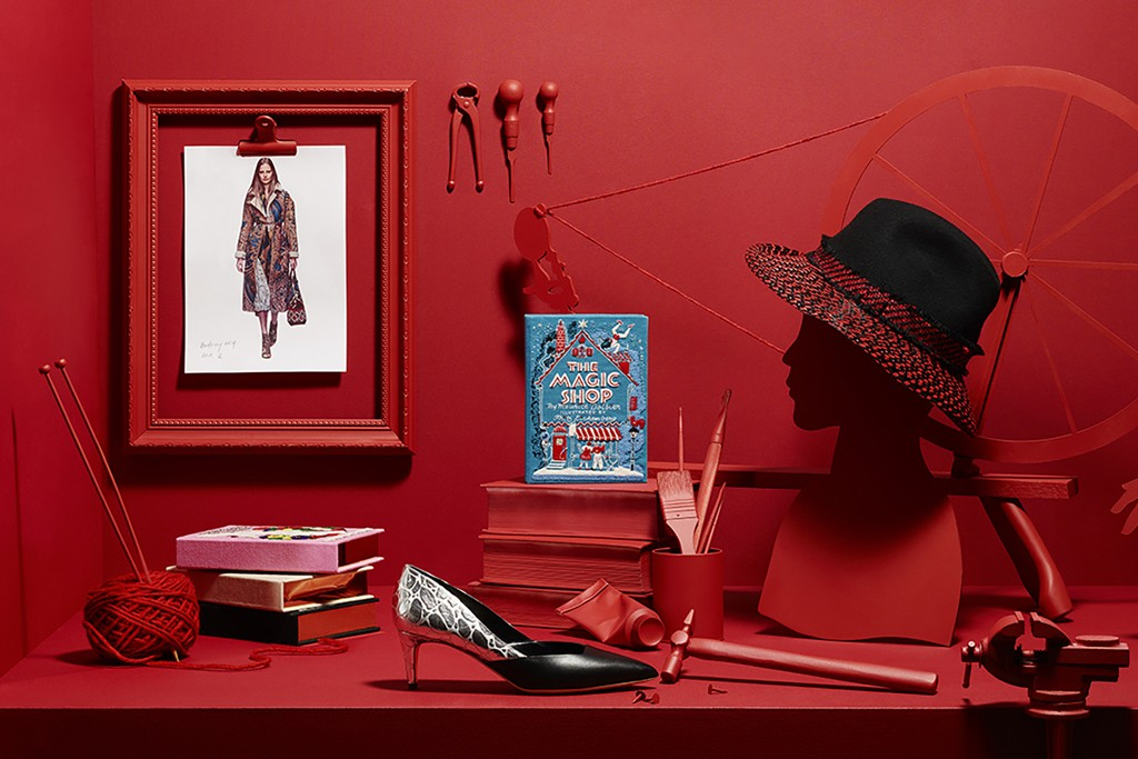 An image from Farfetch Workshop, chapter 3 of the 6 chapters of Farfetch's holiday fairytale campaign.