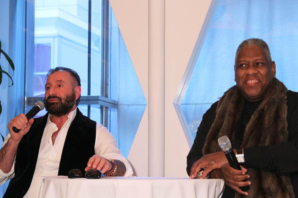 Ralph Rucci and André Leon Talley