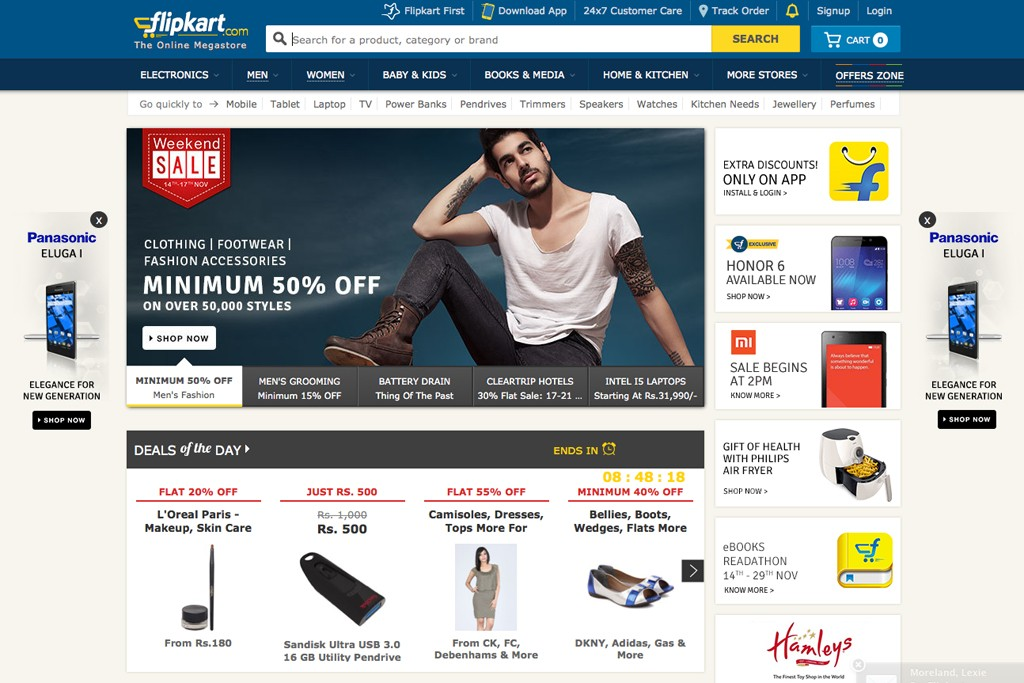 Flipkart is increasing its focus on fashion.