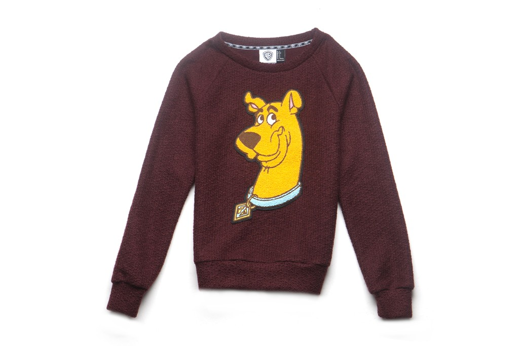 A Scooby-Doo sweater from Forever 21's new Warner Bros. cartoon-themed collection.