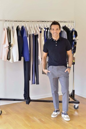 George Kotsiopoulos and his new fashion line for QVC.