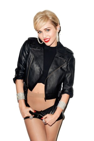 Miley Cyrus photographed by Terry Richardson.