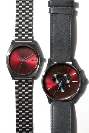 The Nixon x Barneys Sentry Chrono Leather and Time Teller