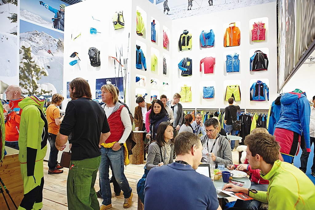 Activewear is the focus at Ispo in Munich.