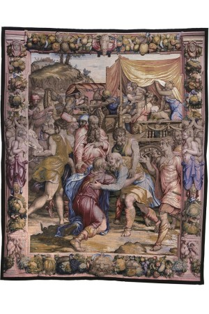A tapestry from the 16th century