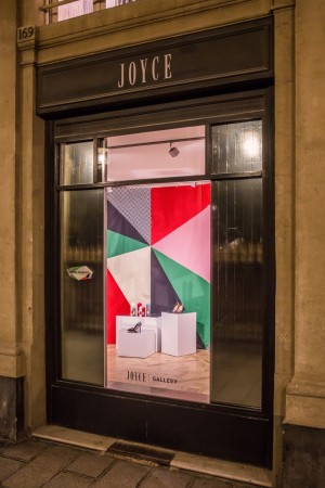 The Isabel Marant pop-up boutique inside the Joyce Gallery in Paris.