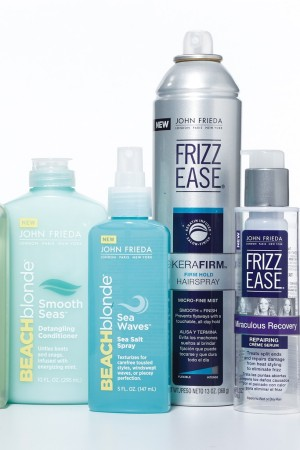 Products from John Frieda.