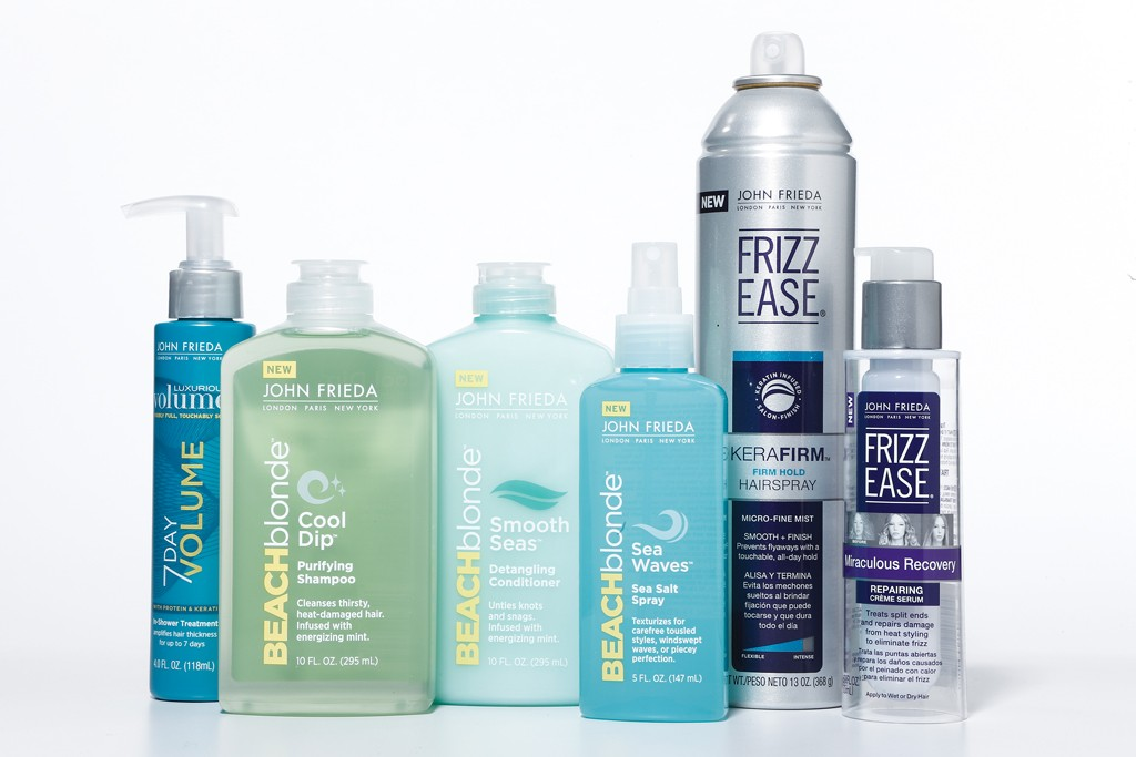 New products from John Frieda.