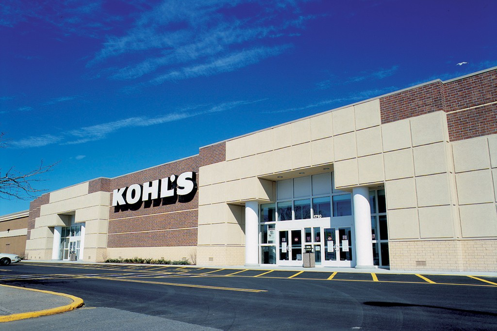 Kohl's fell short of Wall Street's expectations with a 19.8 percent decline in third-quarter profits.