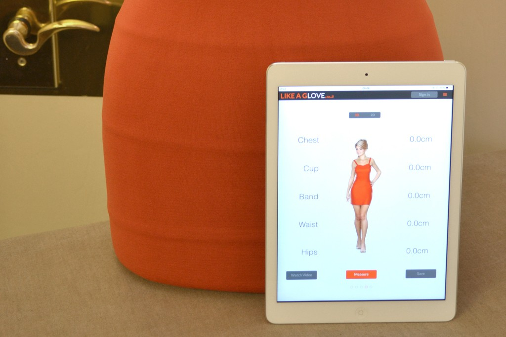LikeAGlove's smart garment and the app.