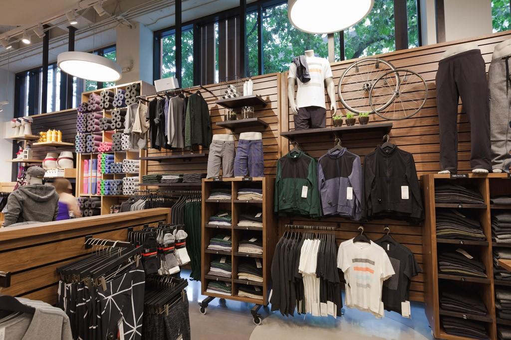 Men's wear gets its due at Lululemon's Vancouver flagship.