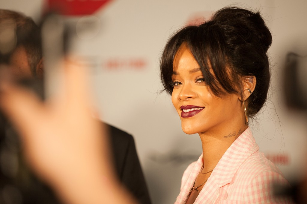Rihanna in Altuzarra.