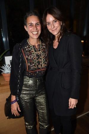 Isabel Marant and Alison Loehnis