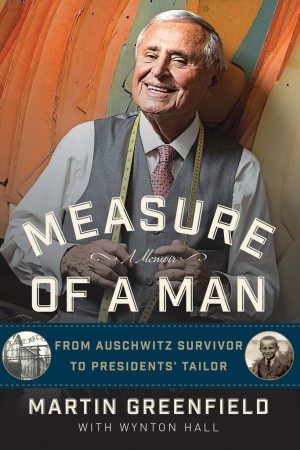 "Martin Greenfield's book ""Measure of a Man."""