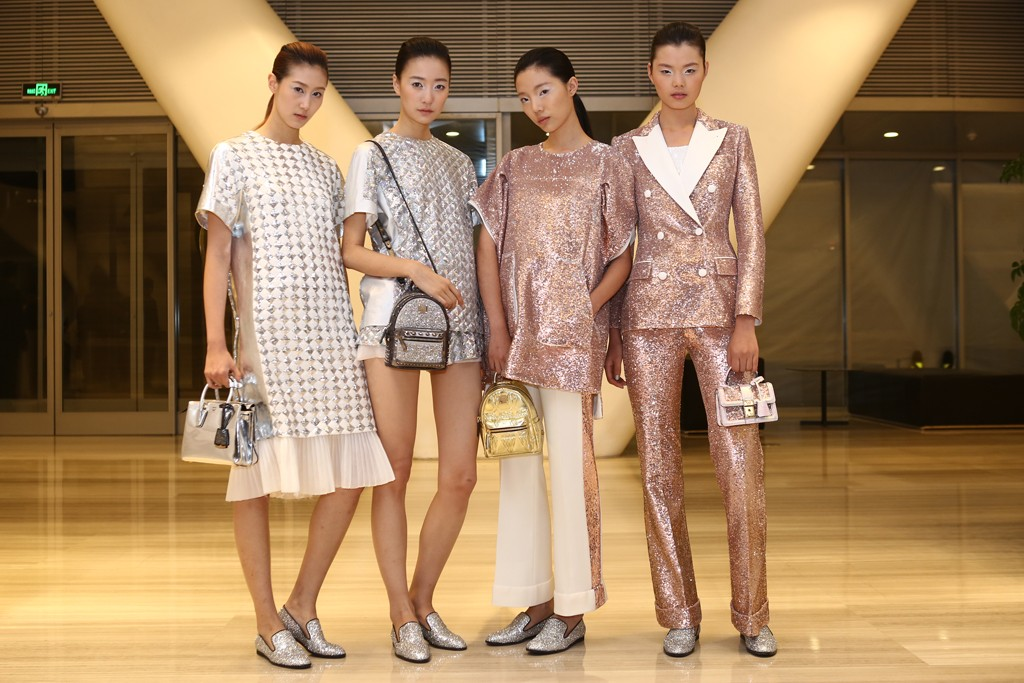 Looks from MCM's spring  line.