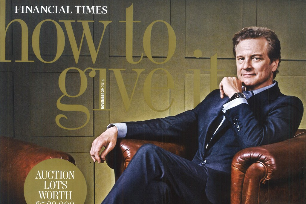 The Financial Times' one-off How to Give It offering, which came out last year.