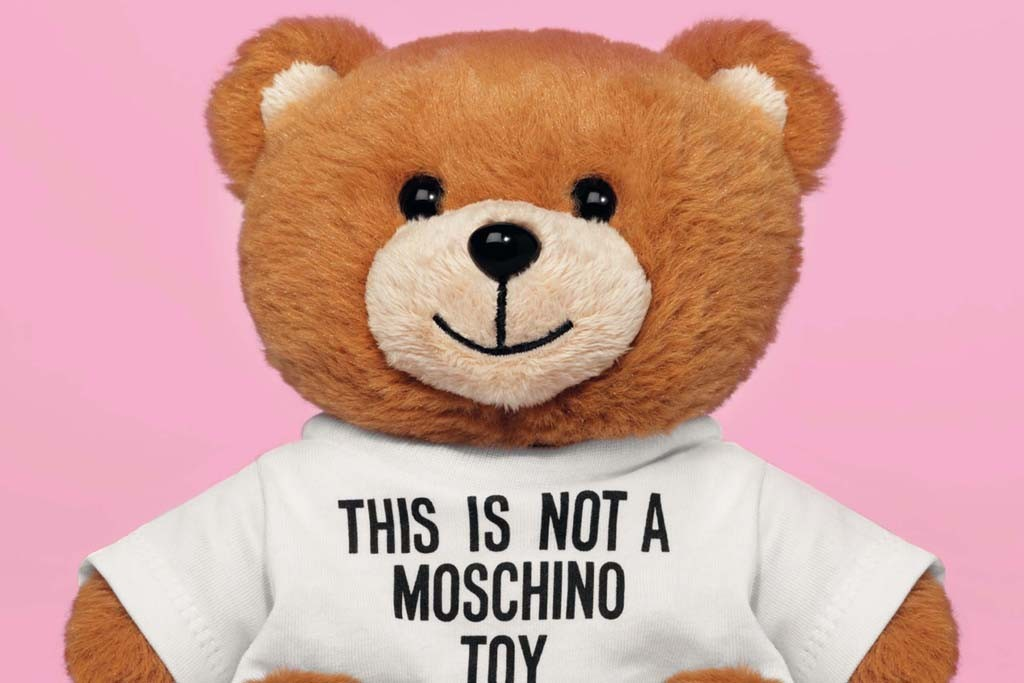The Moschino Toy perfume bottle.