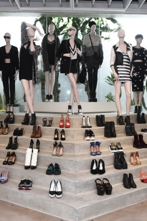 The Nasty Gal store in Los Angeles.