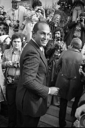 Oscar de la Renta, photographed by WWD in 1973.