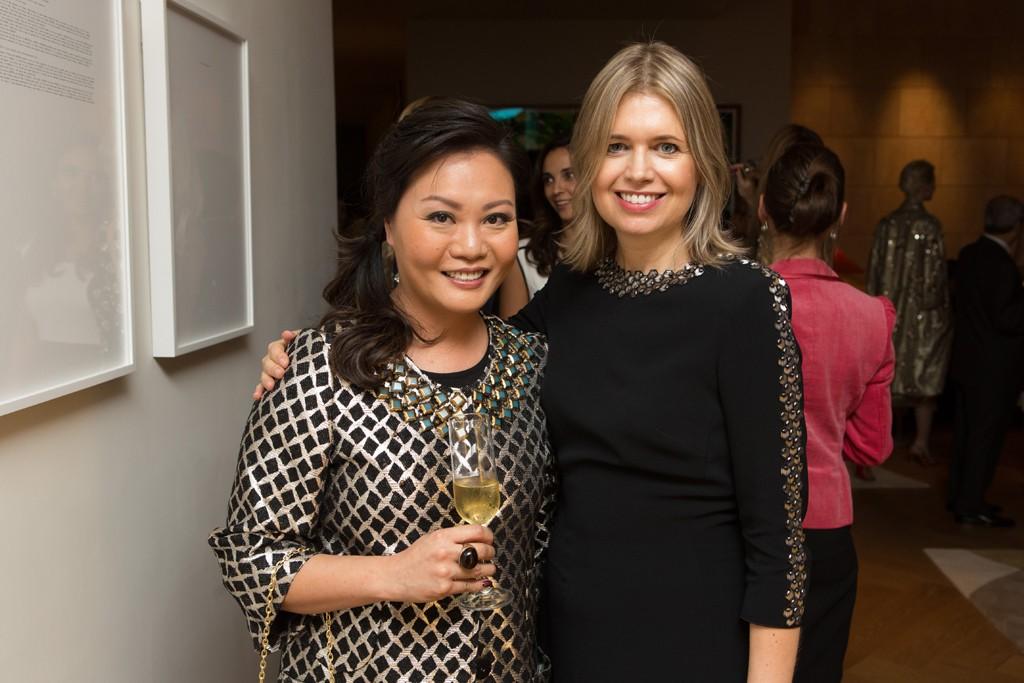 Architect Winnie Cheng and Jenny Packham