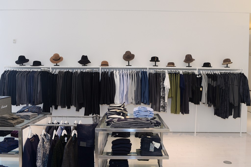 An interior view of Ron Robinson's new store at 1327 5th Street in Santa Monica.