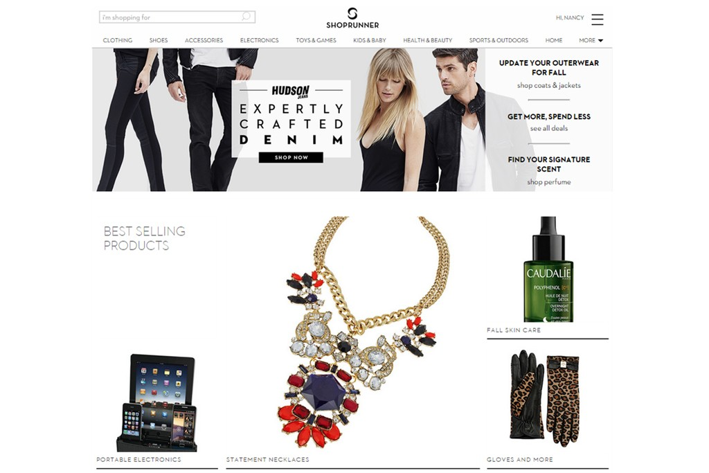 ShopRunner has added 15 new brands for the holiday season.