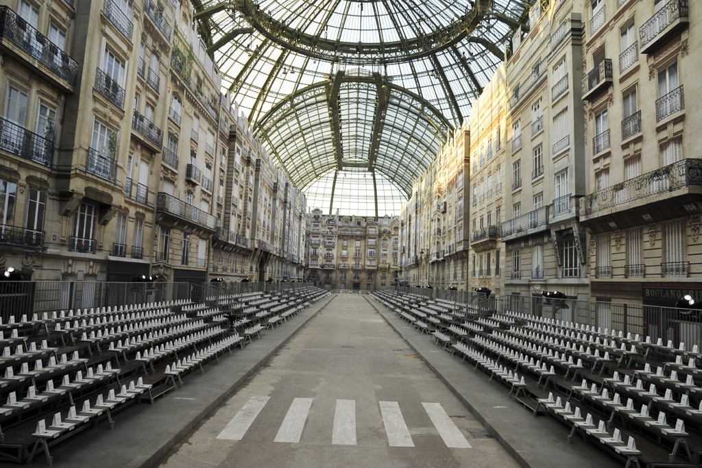 "Chanel's ""Paris Boulevard"" set."
