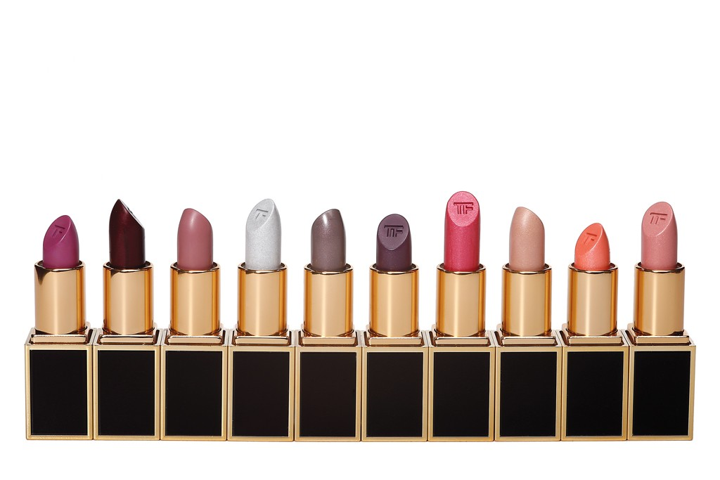 The Lips & Boys collection includes 50 lipsticks in 10 color families.